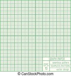 Graph paper seamless pattern