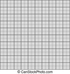 graph paper sheet with millimeter grid