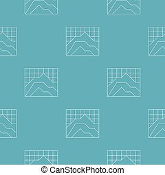 Graph pattern seamless