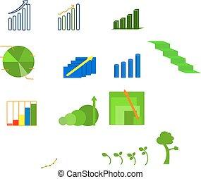 Graph showing profit - Contains 12 files of profit.
