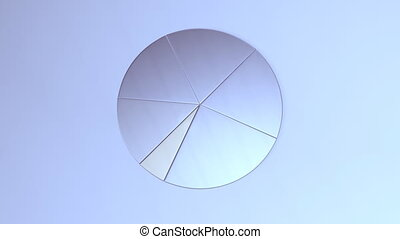 graph - Pie graph depicting grow