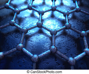 Graphene Hexagonal Atomic Connection Science Technology