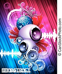Graphic 124 EPS10 14 - Abstract vector shiny background with...