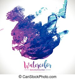 Graphic 163 Watercolor 14 - Abstract hand painted watercolor...