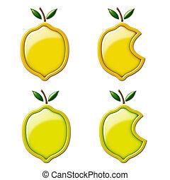 3D Lemon and Lime - Graphic 3D Lemon and Lime