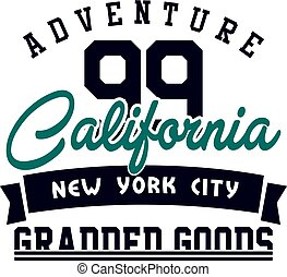 Graphic adventure california