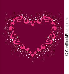 Graphic Art Heart