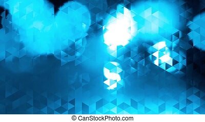 graphic blue animation, triangles - graphic blue animation...