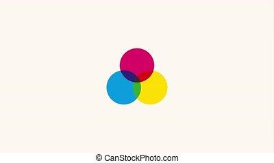graphic design color palette icon