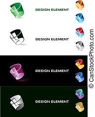 Graphic design element.