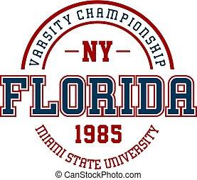 ny florida - Graphic design ny florida for t-shirts