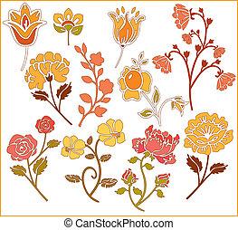graphic design of flowers 2