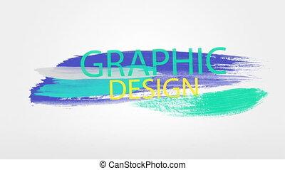 Graphic Design - Colorful graphic design buzzwords
