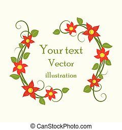 Graphic elements for design. Vector illustration