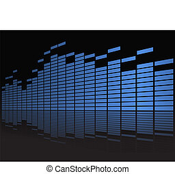 Graphic equalizer in perspective