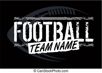 football design - graphic football design with football in...