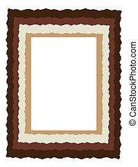 graphic frame or border