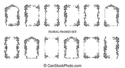 Graphic frames set