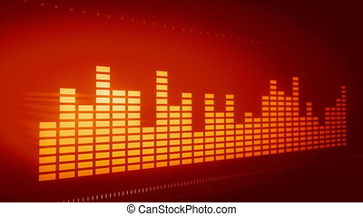 Graphic music equalizer  - Graphic music equalizer