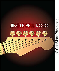 bells on guitar - Graphic of bells on guitar to illustrate...