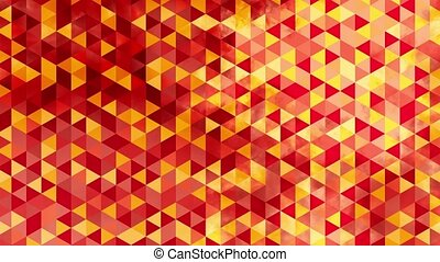 graphic orange animation, triangles - graphic orange...