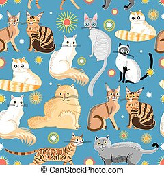 graphic pattern different breeds o