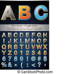 Graphic Style Letters