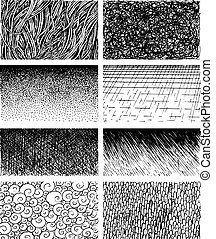Graphical hand-painted textures - Graphical expressive...