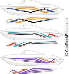 graphics , γραμμή , έτοιμος , :, βάρκα , βινύλιο