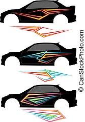 graphics , γραμμή , όχημα , έτοιμος , :, βινύλιο