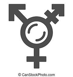 graphics., rodzaj, biały, ikona, symbolika, lgbt, symbol, ...