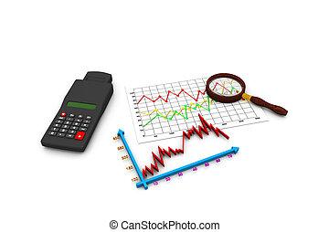 graphique, analyser