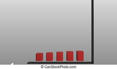 graphique, animation, 3d