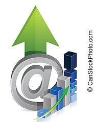 graphique, business, internet