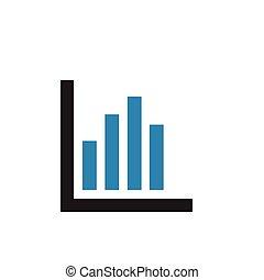 graphique, business, vecteur, conception, gabarit, icône