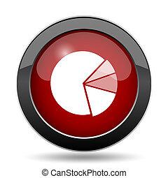 graphique circulaire, icône