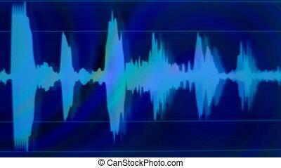 graphique, equalisers, agrafe, musique, analyse, audio