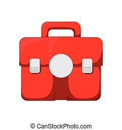 graphique, kit médical, vecteur, santé, care., icon.