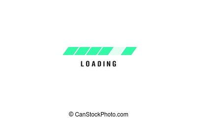 graphique, ligne, flotter, mouvement, fond, vert, 4k, vidéo, blanc, animation, icône