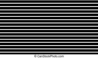 graphique, lignes, haut, abstraction, levée, fond, noir, horizontal, blanc