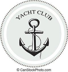graphique, nom, secteur, club, texte, yacht, fond,...