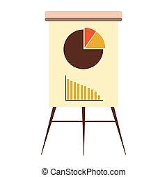 graphique, planche, business