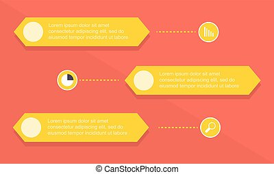 graphique, style, infographic, conception, business