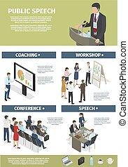 graphiques, formation, travail, directeurs, compagnie