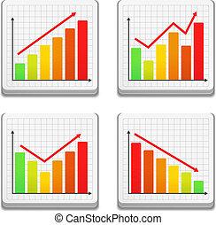 graphiques, icônes
