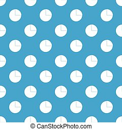 Graphs chart statistic pattern seamless blue