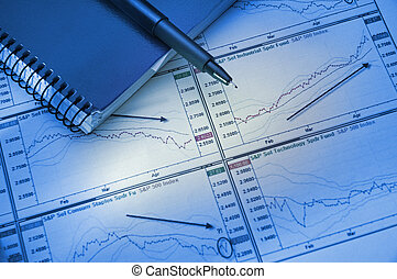 Graphs & Charts - The financial analysis of growth of...