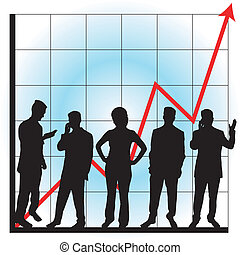 Graphs for business use - Business graphs showing progress ...