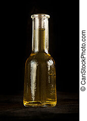 Grappa - Traditional bulgarian small bottle for grappa on ...