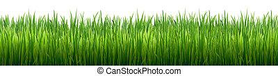 gras, grens, vrijstaand
